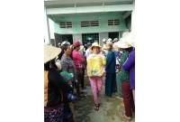 Nhựa Đức Đạt giúp nông dân xã Phước Thằng, Tuy Phước giúp ổn định cuộc sống và tài sản xuất sau lũ Bình Định