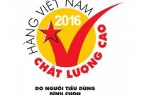 Nhựa Đức Đạt được bình chọn danh hiệu Hàng Việt Nam Chất Lượng Cao 2016